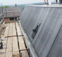 Roofs on commercial premises