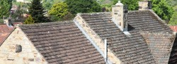 Repairs to old roofing